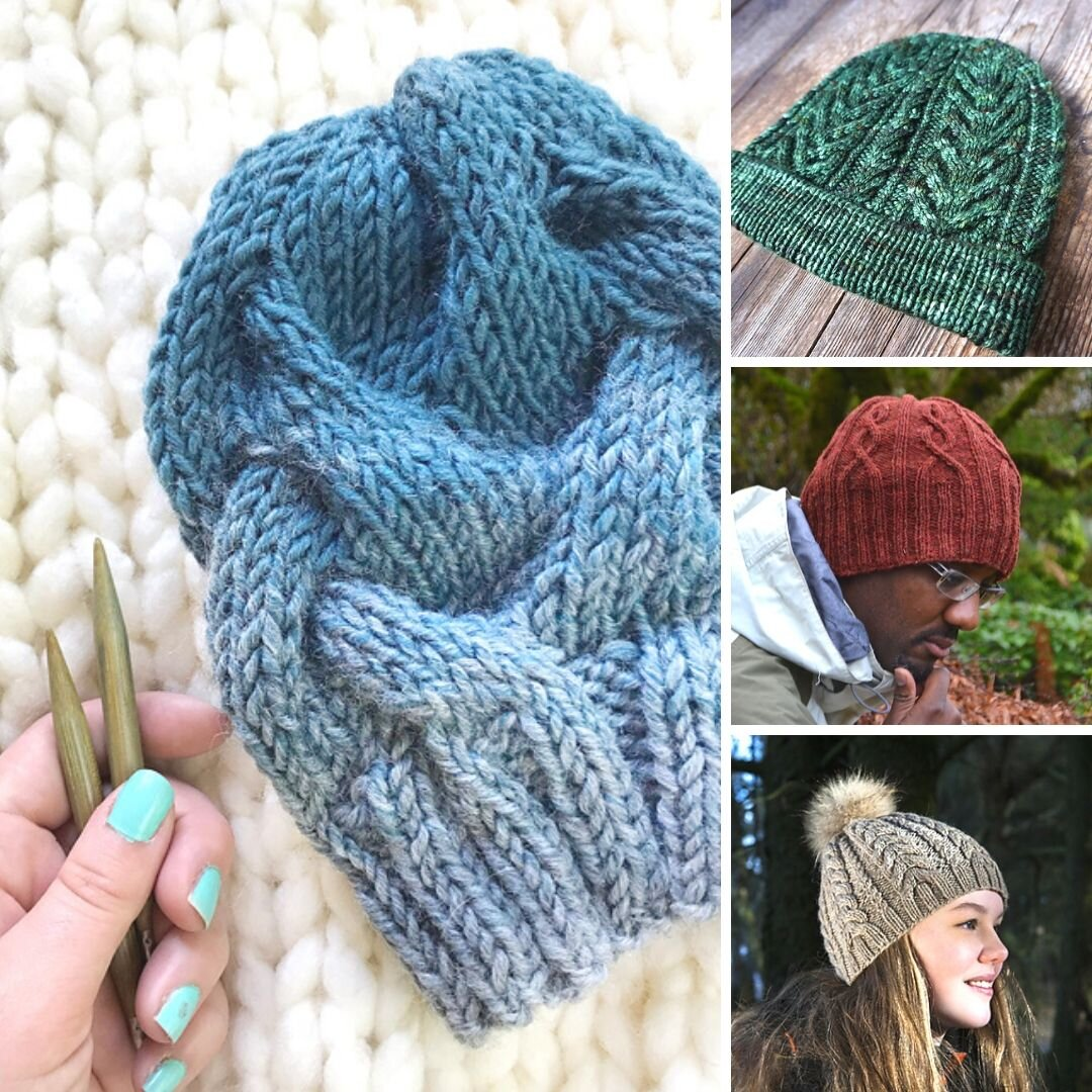 Check Me Out Hat Knitting Pattern