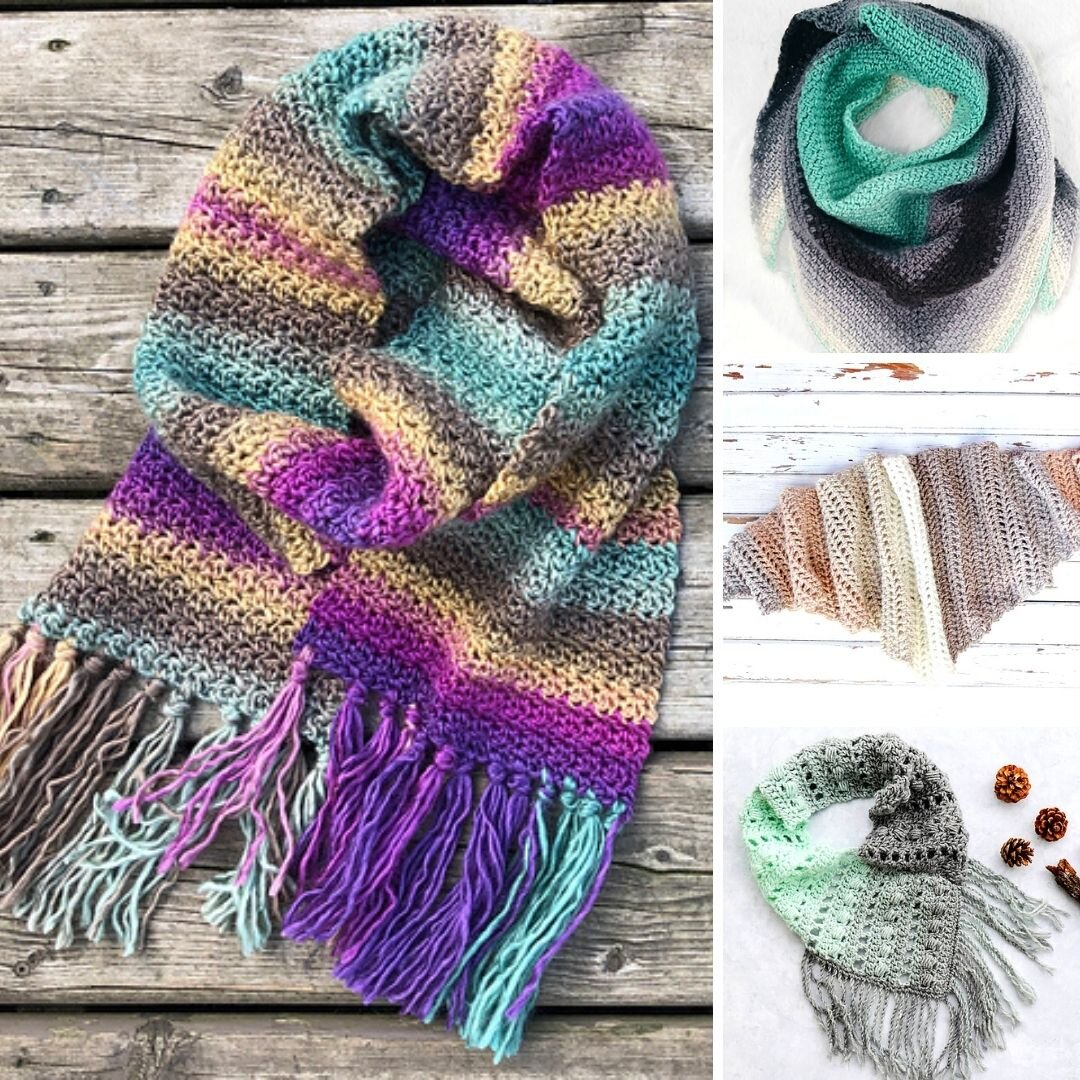 10 Best Free Scarf Crochet Patterns Blog Nobleknits