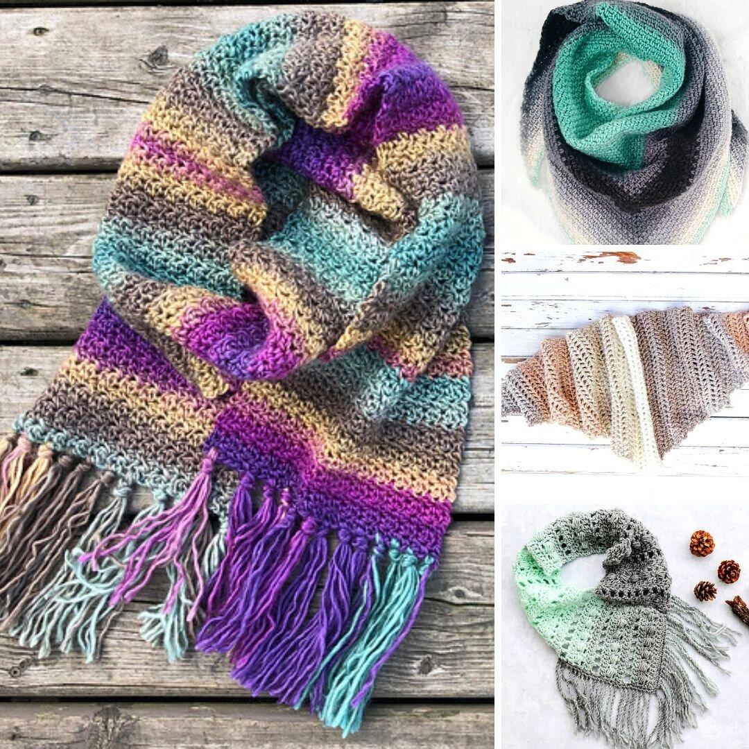 crochet+scarves