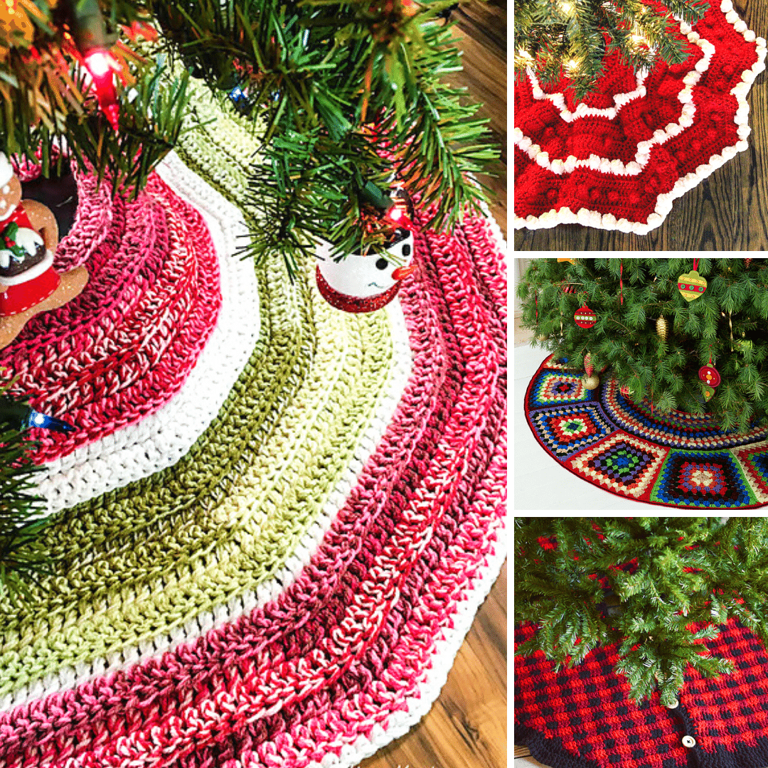 10 Best Crochet Christmas Tree Skirt Free Patterns Blog Nobleknits