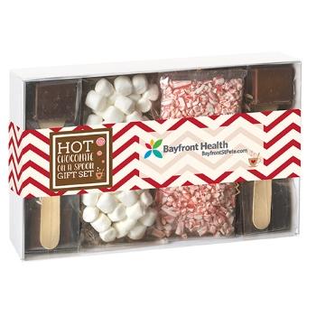 Hot chocolate gift set -