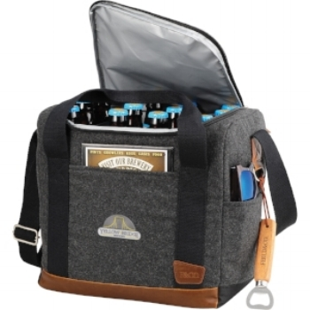 Suede & Leather Cooler -