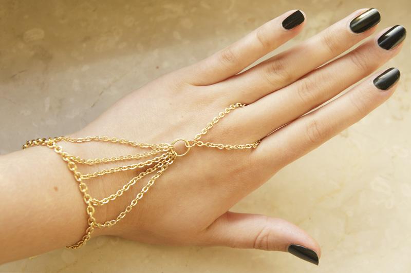 DIY: Ring Bracelet