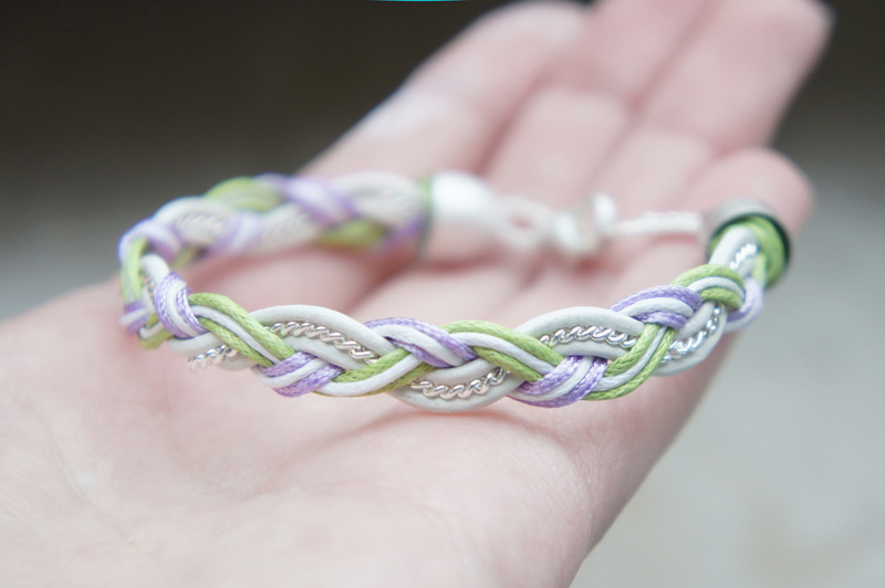 Diy Pastel Braid Bracelet Anuschka Rees