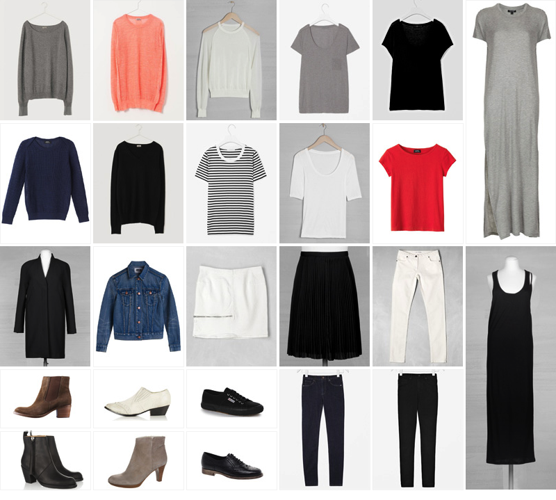 (main) Building a Capsule Wardrobe from Scratch: An Example