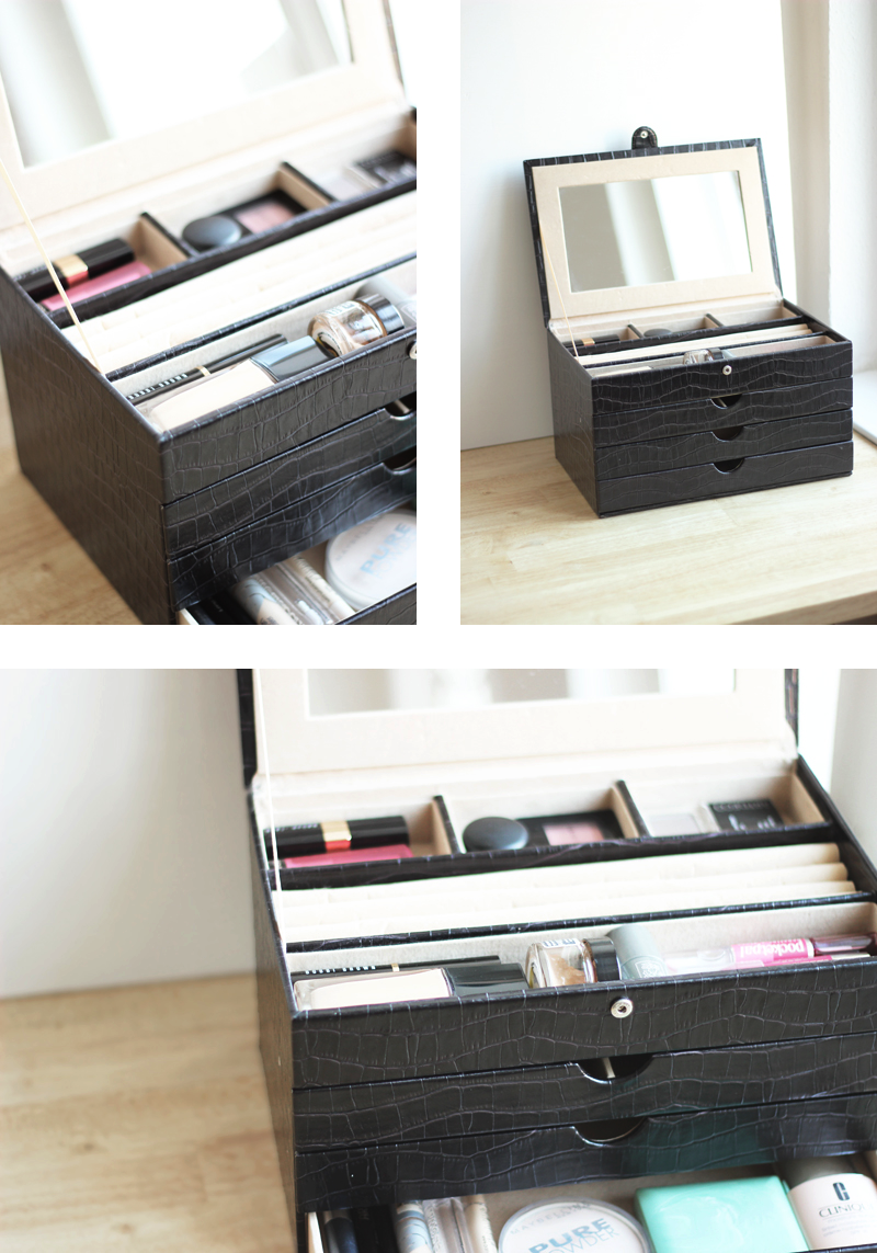 Storing Make up 101: Jewellery Case