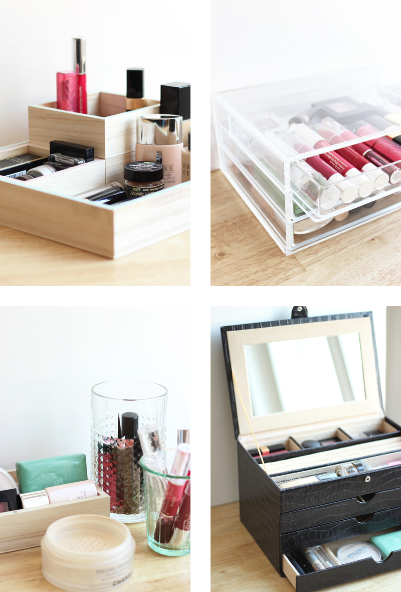 4 Ways to Store Make up