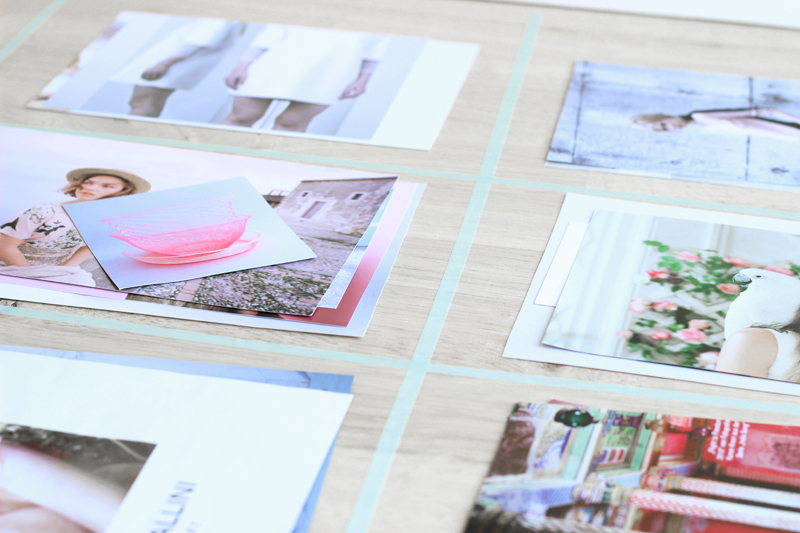Build the perfect mood board | Step 8: Organise elements
