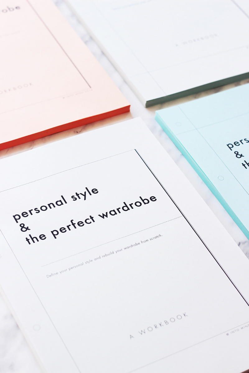 'Personal Style & The Perfect Wardrobe // A Workbook'