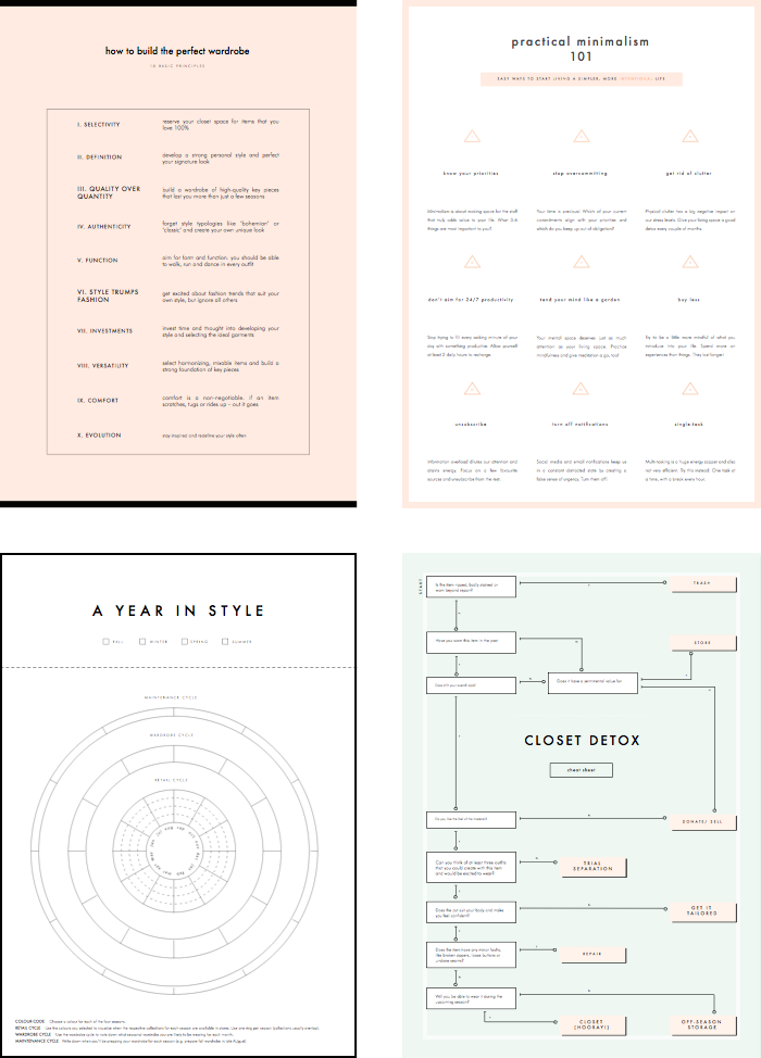 Free Printables Collection (+ 20% workbook discount) — Anuschka Rees