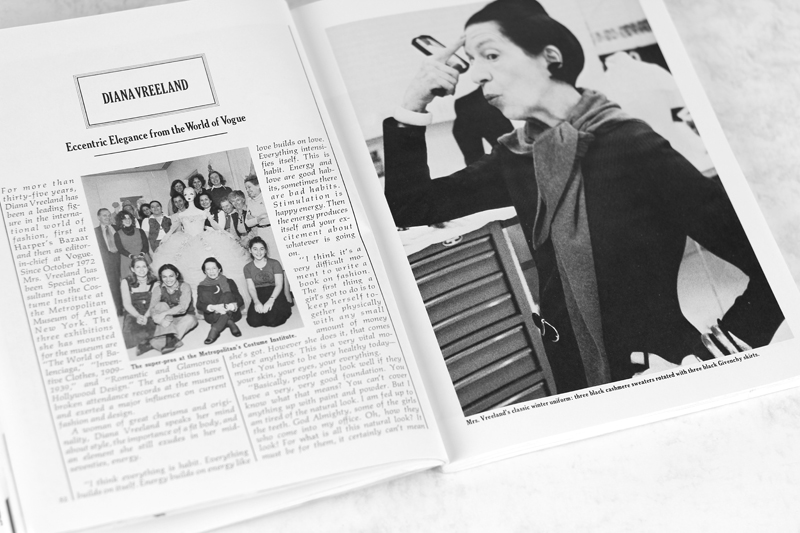 "Diana Vreeland | Timeless Style Advice from 70s Classic ""Cheap Chic"""