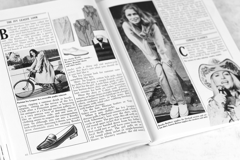 "Ivy League Style | Timeless Style Advice from 70s Classic ""Cheap Chic"""