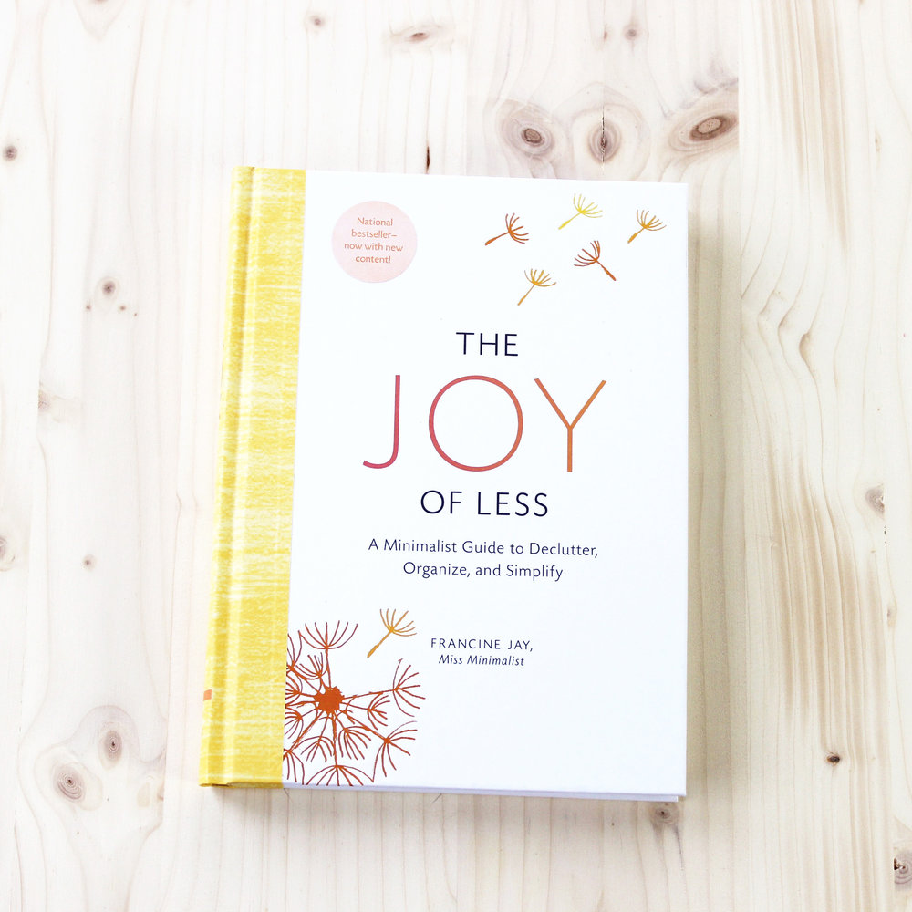 The Joy of Less |  Gift Guide: 12 Thoughtful books about style, ethical fashion and building a better, simpler wardrobe |  into-mind.com
