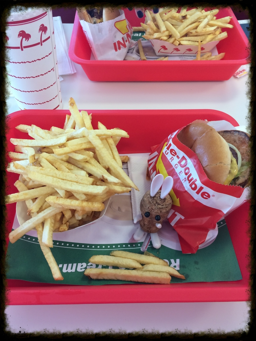 In & Out, Double Double. Clearly.
