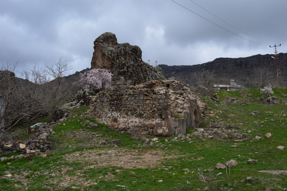 One of many destroyed churches in Tunceli province.