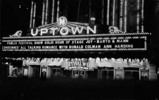 Uptown Theater 1929: