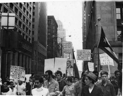 Young Lords march for justice