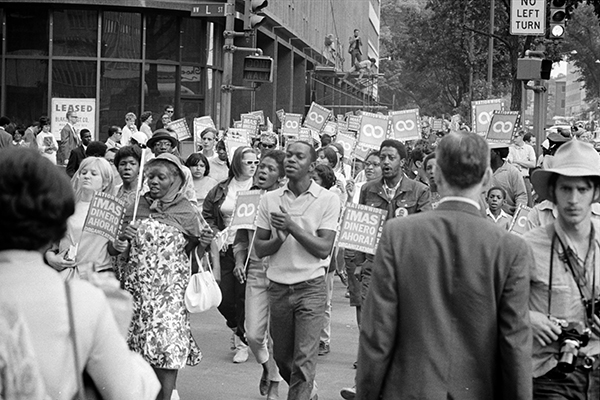 The original Poor People's Campaign marches through Washington DC in June of 1968.