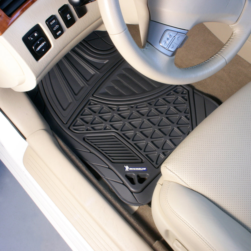 Michelin 4-Piece Rubber Mat Set