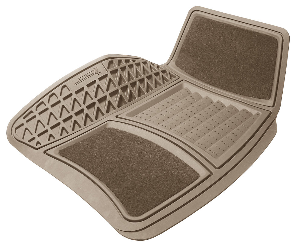 Michelin 2-Piece Carpet/Rubber Mat Set