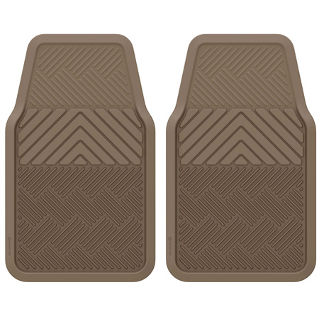 RoadWear 2-Piece Rubber Mat Set
