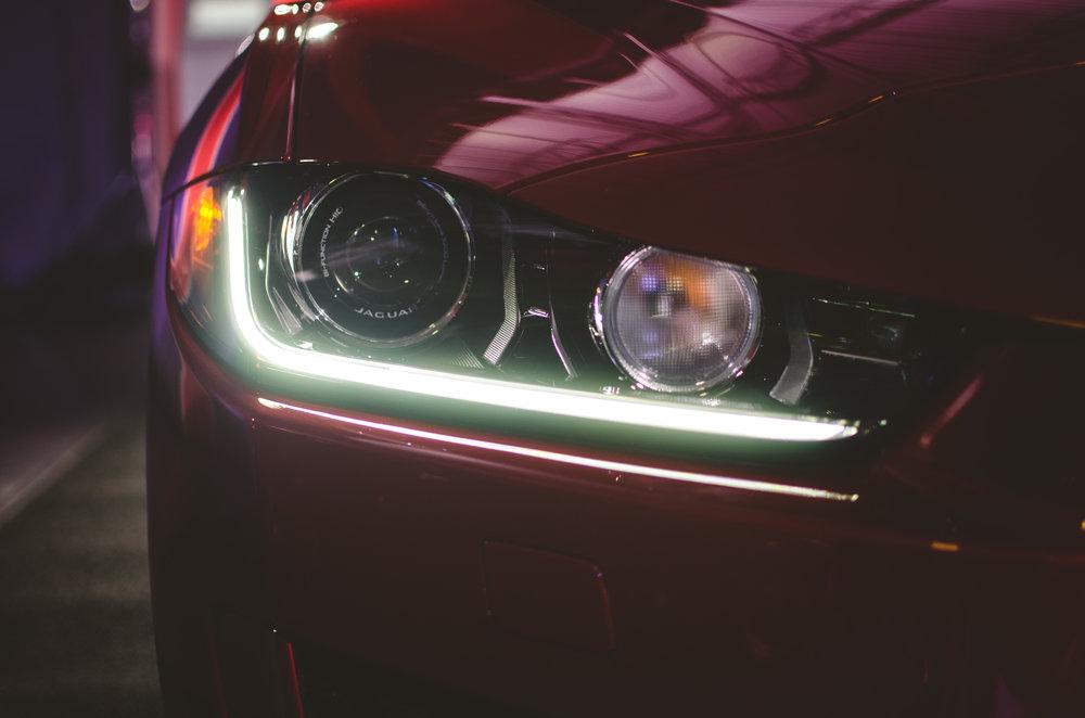 2017 Jaguar XE ; Shot by Yogi