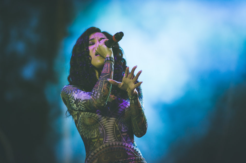 Jhene Aiko - Broccoli City Fest '16