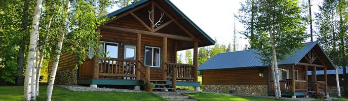 Glacier Outdoor Centeru0027s Cozy Cabins