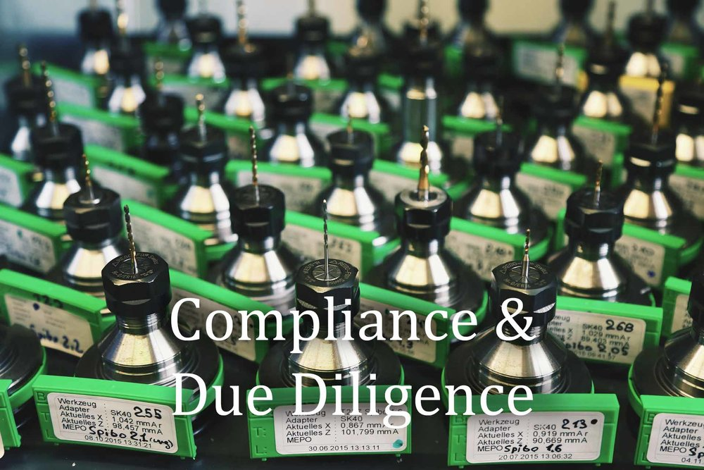 COMPLIANCE   DUE DILIGENCE
