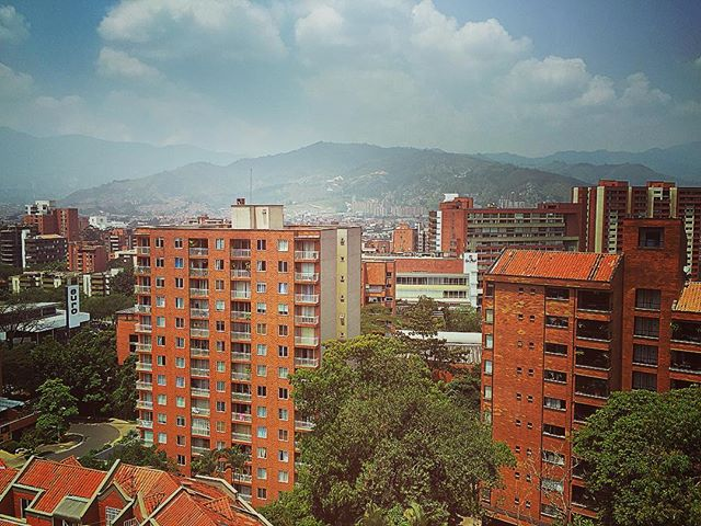 Medellín, Colombia. When you wake up to this...Life is good. #colombia #medellin