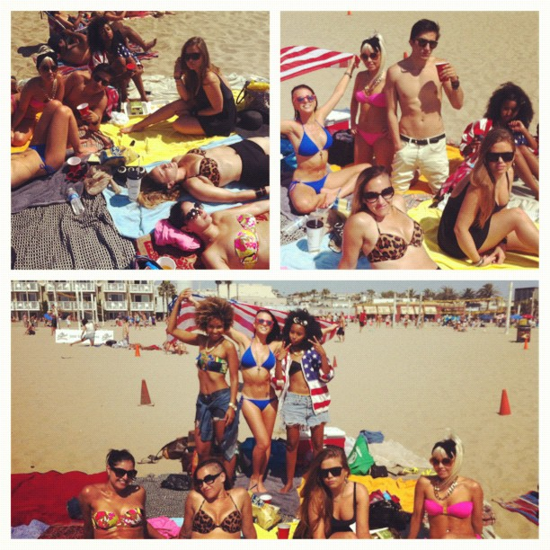 #picstitch #4thofjuly with @sean_r_matthews @missnappiifyournasty @itsTheCharlies @GinaJoon 💋🌴🐚 (Taken with Instagram)