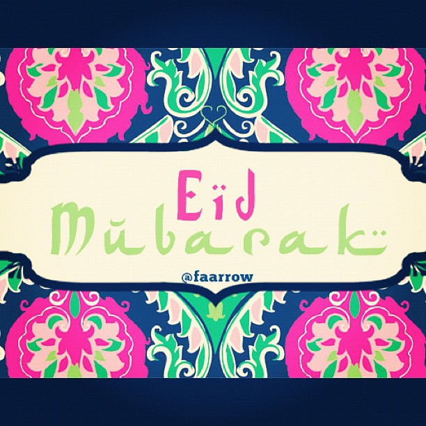 ;-) #Eidmubarak  (Taken with  Instagram )
