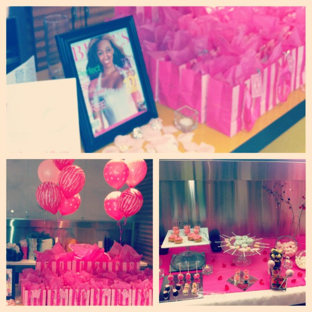 #picstitch our sister @Nasteha #Victoriasecret themed #Bridalshower #Weddingshower …Luv ya girl!! Xoxo (Taken with  Instagram )
