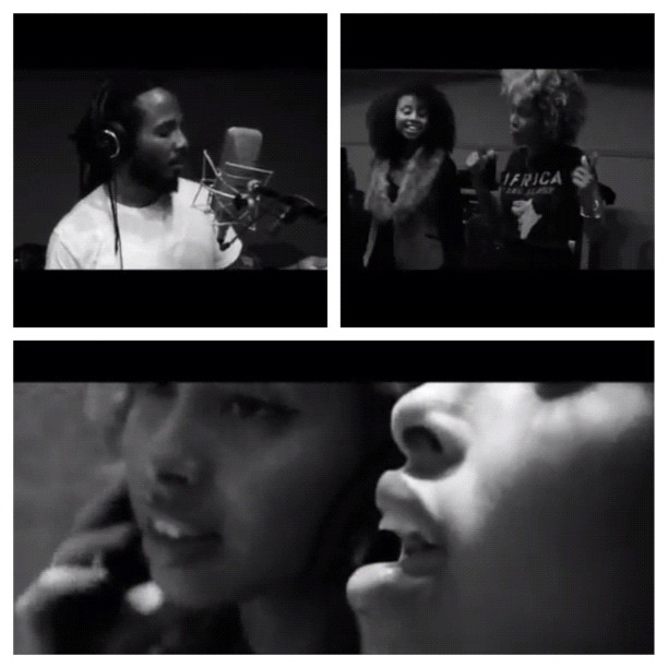 """#picstitch Honored to have been apart of U.Ns WHd 2011 campaign with #ZiggyMarley #Salmanahmad #Junoon with the song """"If I could change"""" Support #Whd2012 with #Beyonce #iwashere Campaign.  (Taken with  Instagram )"""
