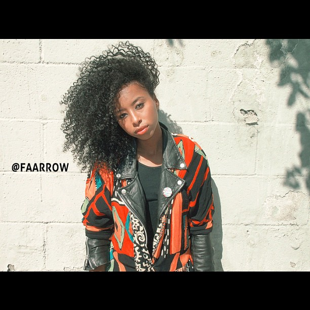 Siham #ootd #curlyhair #naturalhair #faarrow #siham #Africa