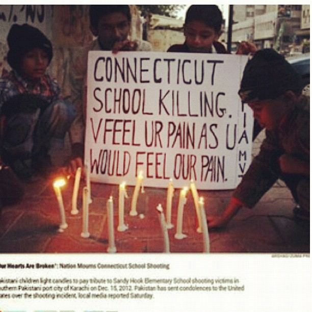 The whole world is praying for you angels  #newtown #connecticut #pakistan #rip 🙏