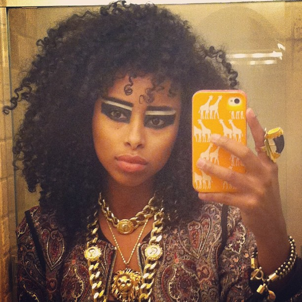 Rule The World #music #faarrow #curlyhair #naturalhair #eyes #tribal #africa #gold #siham
