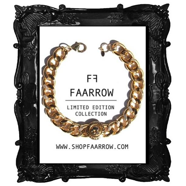 FAARROW NECKLACE @shopfaarrow #shopfaarrow #Faarrownecklace #Gold #faarrow