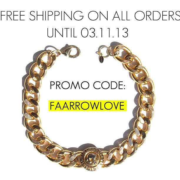 Ends Monday at 12:00 am . Get yours 🔜 🔛 www.shopfaarrow.com 🔱