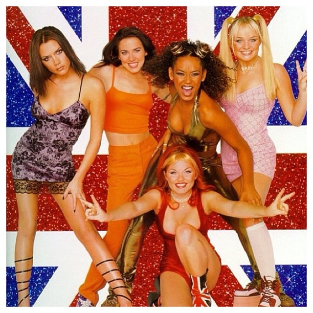 "💣 who else misses the #spicegirls !! ""Wannabe""just came on.. Having a moment right now💥 #nostalgia #spiceworld #vivaforever #girlpower #faarrow ✌"