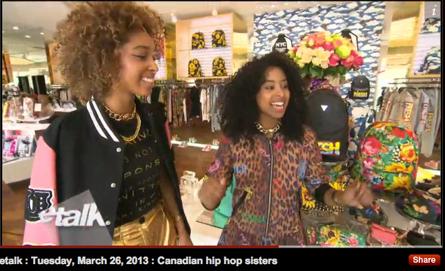For those who couldn't catch our segment with ETALK on tv..here's the video link xoxo     LOL at hip hop sisters -__-