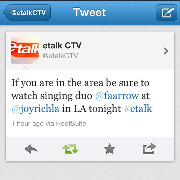 Heyy to all our Fellow Canadians, make sure you tune in to ETALK on CTV 7pm (est) @etalkctv and catch our segment in our fave store @joyrichla #Faarrow #canada #etalkctv #jorichla (at ETALK CANADA )