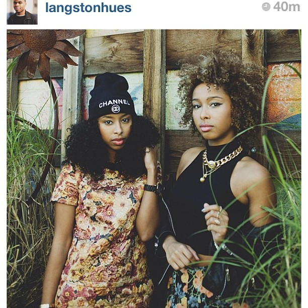 #Repost photo by @langstonhues #faarrow #ssur #shopfaarrow #Curlbox #curlyhair