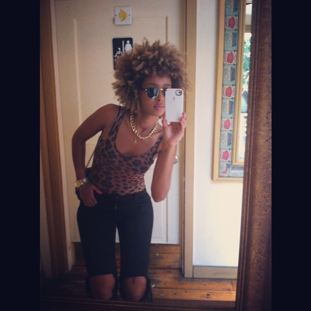 ☺✌💋 I love myself … K bye.   #iman #faarrow #Loveyourself  #leopard ;-)