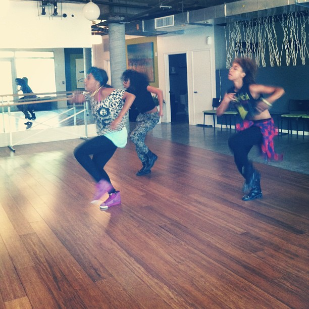 Dance rehearsal with the Amazing @Reynajoy Love her!!! #faarrow #Werk #Ruletheworld