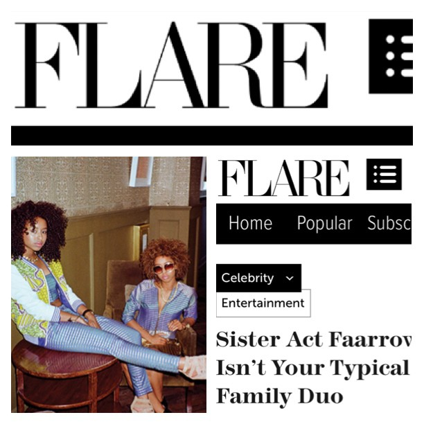 Check out our feature on FLARE Magazine @  FLARE.COM . We're in the September issue out in stores next week!! 💋❤ @aminalula @prettypukefool  #Flare #faarrow #Flaremagazine  (at  www.Flare.com )