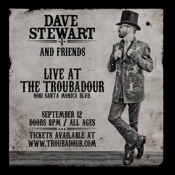"We're performing tonight with @Davestewart at The ""Troubadour"" .. Lots of special guests!! #faarow #davestewart #Troubadour (at Troubadour West Hollywood)"