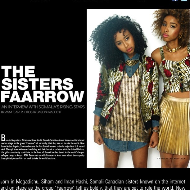 🔱FAARROW X AFROSTYLE MAG 🔱 Check out our feature at  www.afrostylemag.com  @Dellalosangeles 💋👑 (at  WWW.AFROSTYLEMAG.COM )