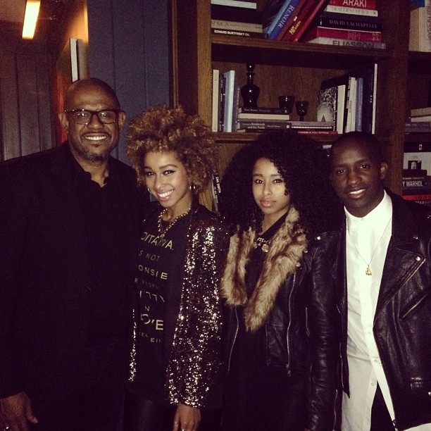 SoHo House Last night screening for #TheButler with @oneelijahkelley & his movie Dad #Forestwhitaker #sohohouse #faarrow