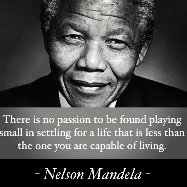 R.I.P Nelson Mandela. We will forever look up to you🔱